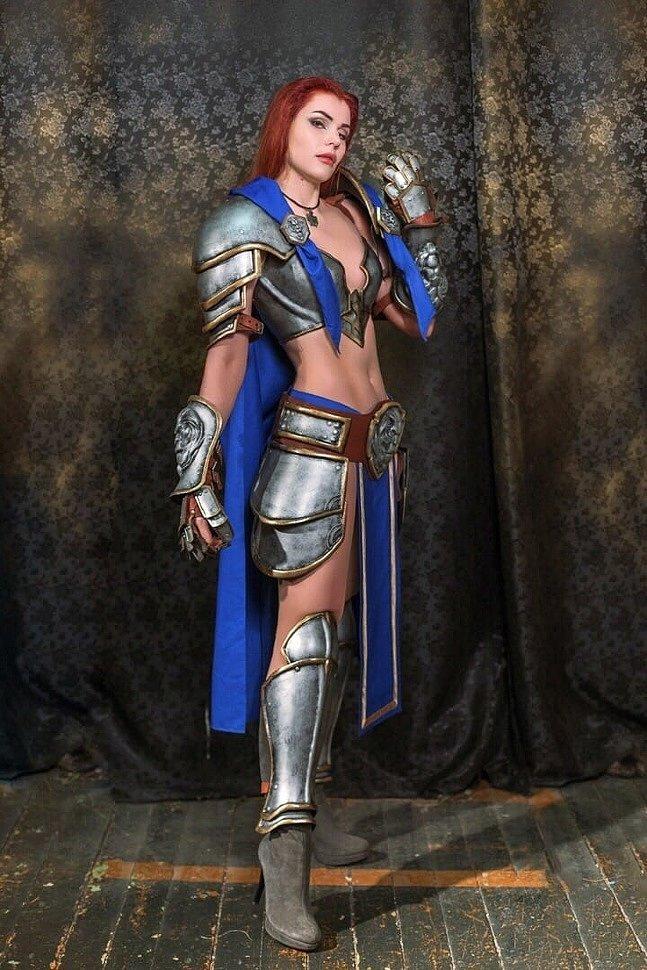 Russian Cosplay: Stormwind Hero (World of Warcraft) by iChios