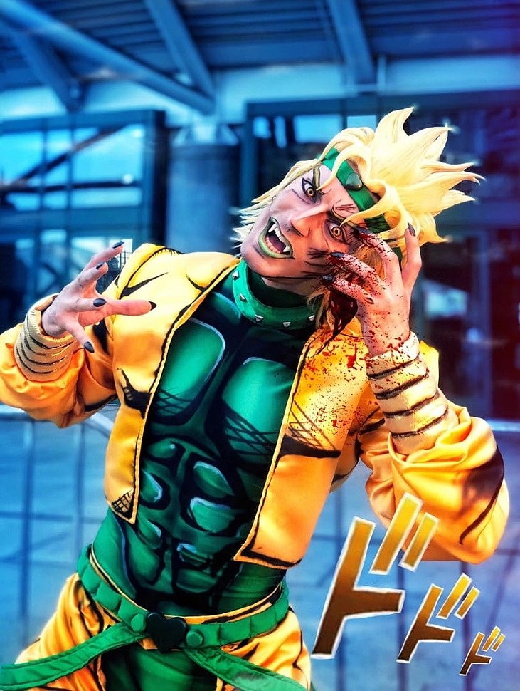 Russian Cosplay: Dio (JoJo's Bizarre Adventure) by Leon Chiro
