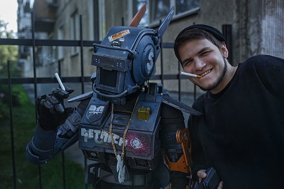 Russian Cosplay: Chappie