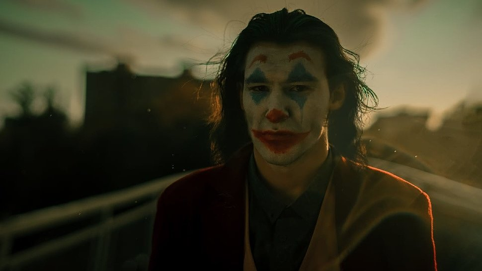 Russian Cosplay: Joker (DC Comics) by Nova Poltorashnik