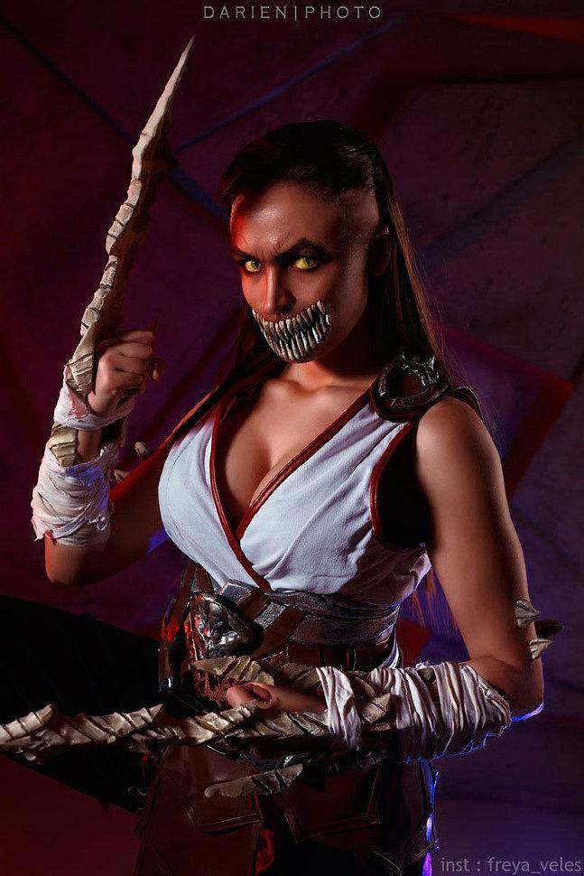 Russian Cosplay: Baraka (Mortal Kombat 11)