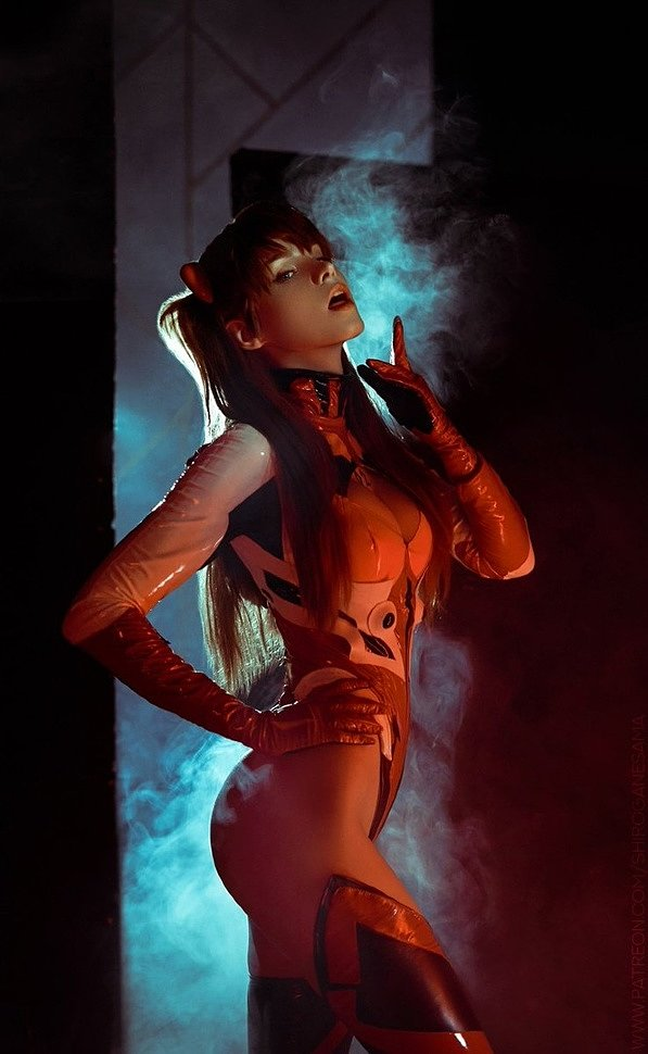 Russian Cosplay: Asuka Langley (Evangelion) by shirogane_sama