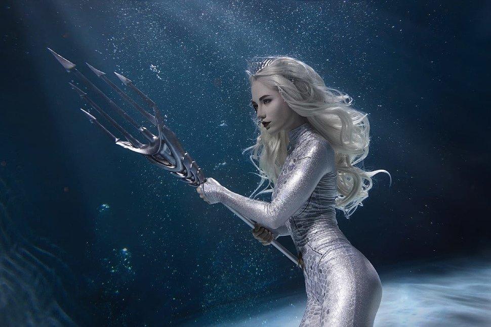 Russian Cosplay: Atlanna & Mera (Aquaman)