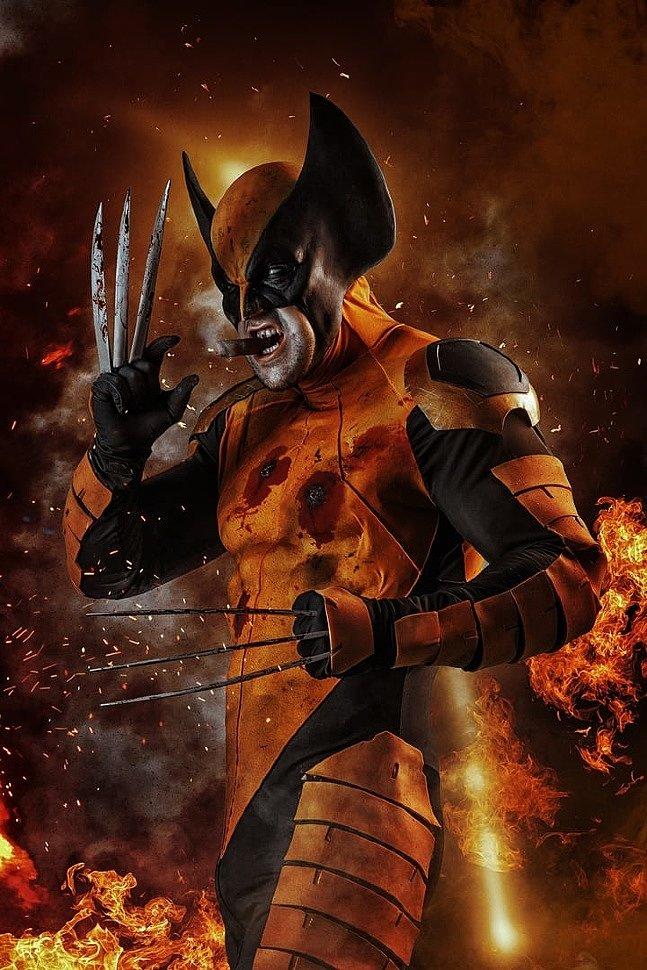 Russian Cosplay: Wolverine (X-men)