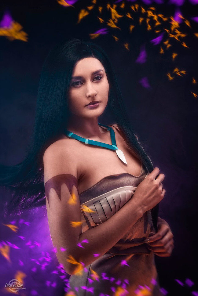 Russian Cosplay: Pocahontas