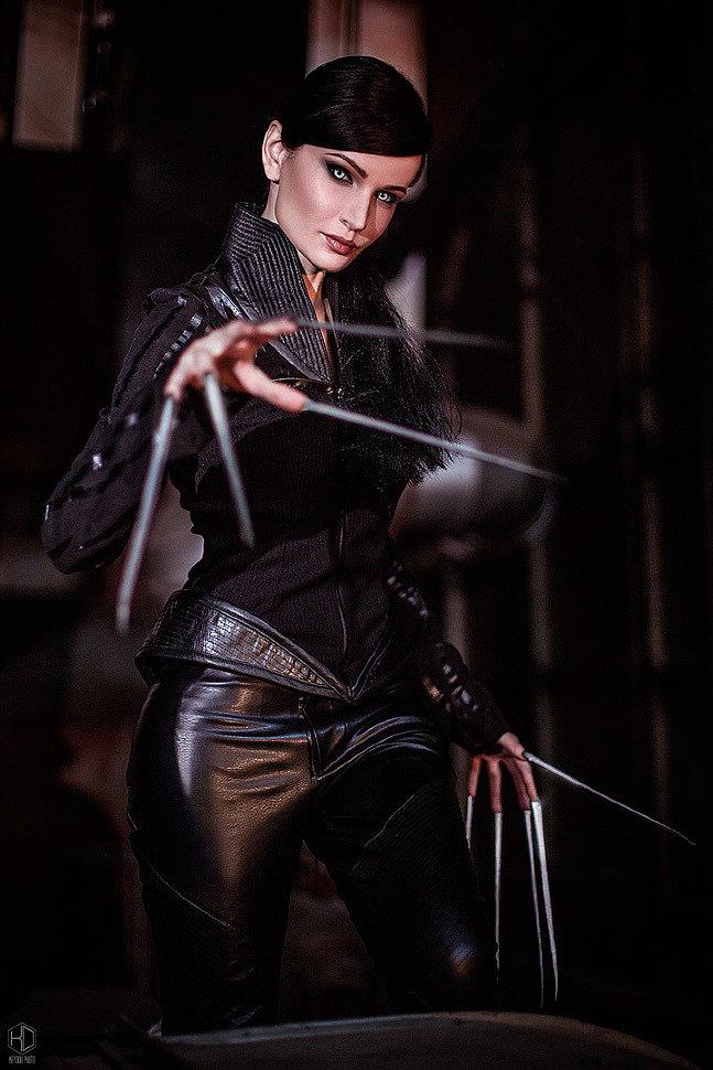 Russian Cosplay: Lady Deathstrike (X-Men 2) by Yuriko Oyama