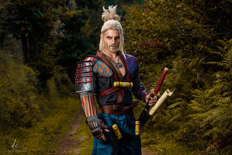 Cosplay: Ronin Geralt (The Witcher) by Taryn Cosplay