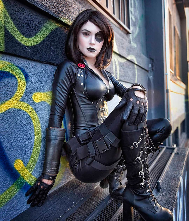 Cosplay: Domino (X-men) by Kirstin