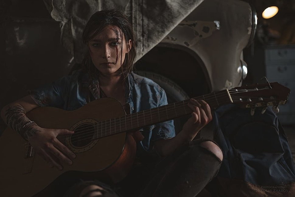 Russian Cosplay: Ellie (The Last of Us II) by Katya Navolockaya