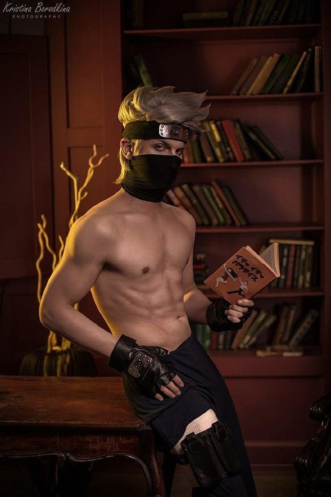 Russian Cosplay: Kakashi Hatake (Naruto) by Dmitry Timakov