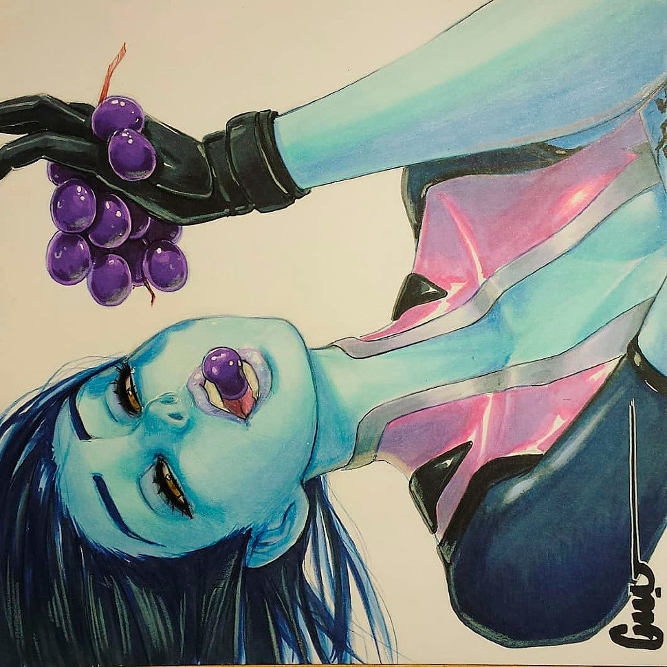 [Art] Widowmaker (Overwatch) by omardogan1976