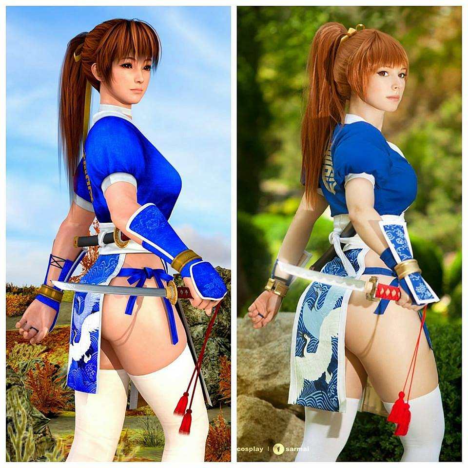 Cosplay: Kasumi (Dead or Alive 5) by Enji Night