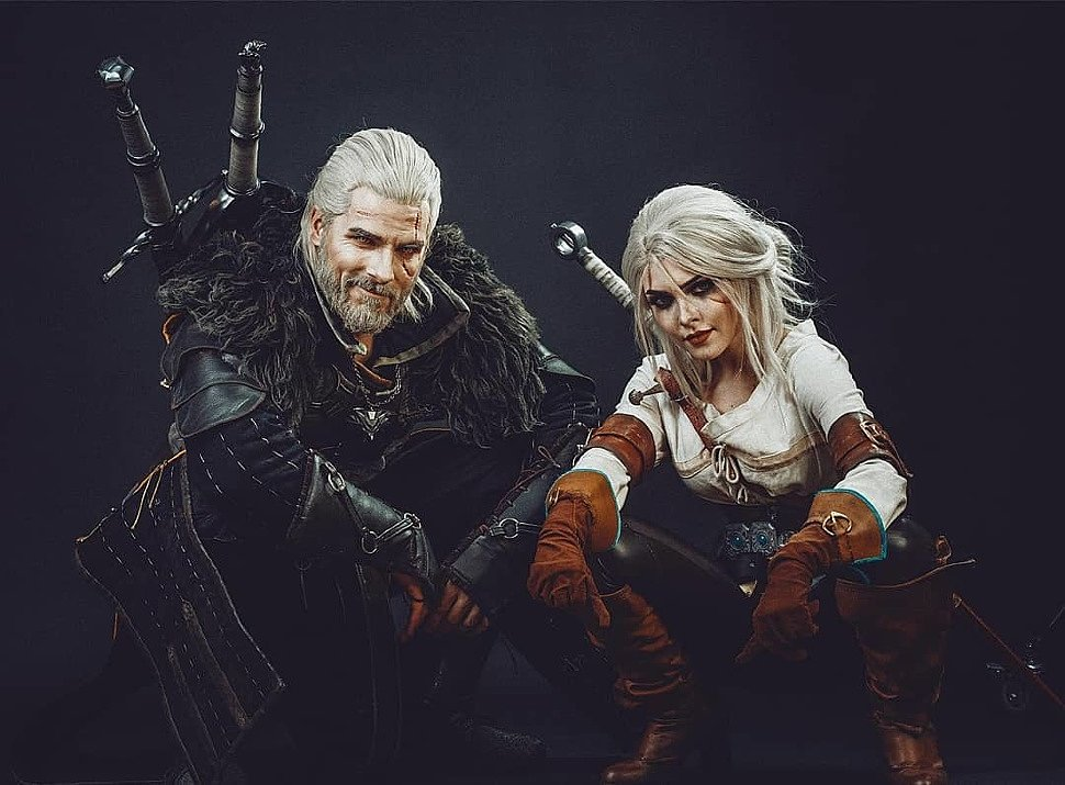 Russian Cosplay: Ciri (The Witcher 3) by Ilona Bugaeva