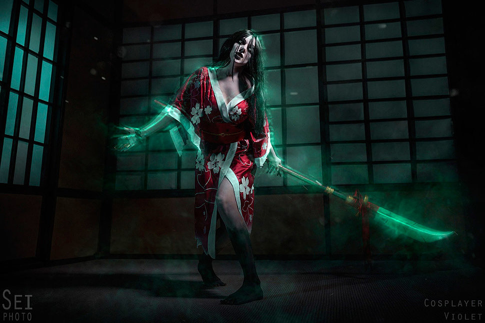 Russian Cosplay: Hisako (Killer Instinct) by Violet