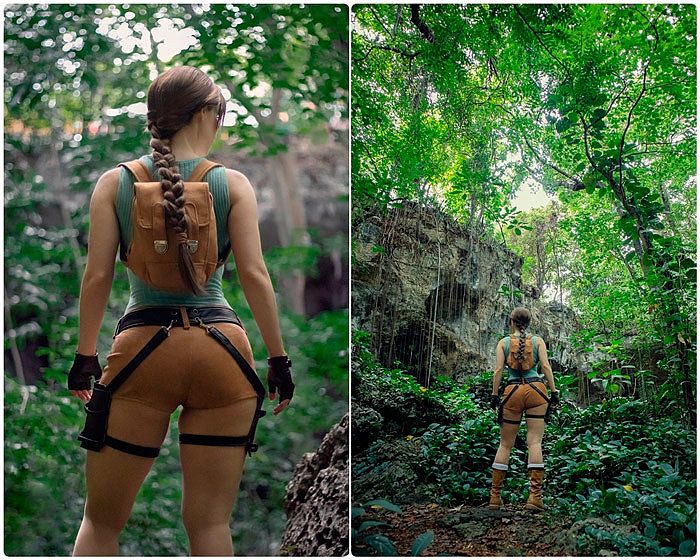 Cosplay: Lara Croft (Tomb Raider) by Enji Night ver 2