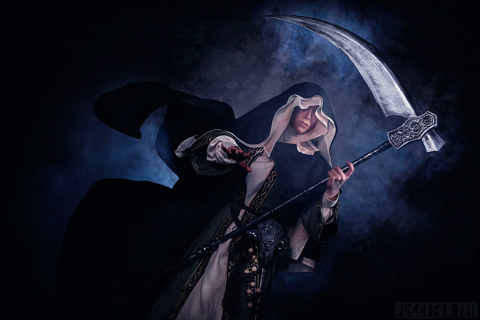 Russian Cosplay: Sister Friede (Dark Souls)