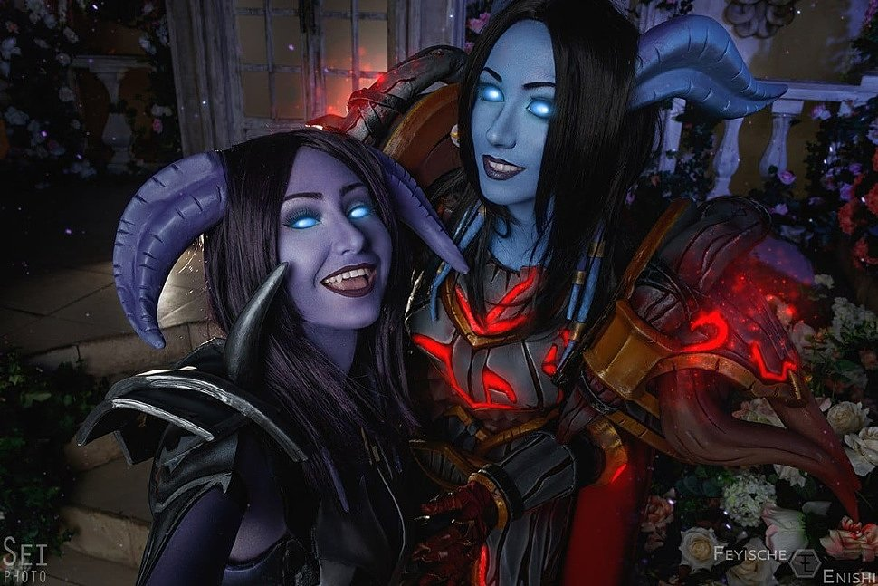 Russian Cosplay: Draenei Hunter (World of Warcraft)