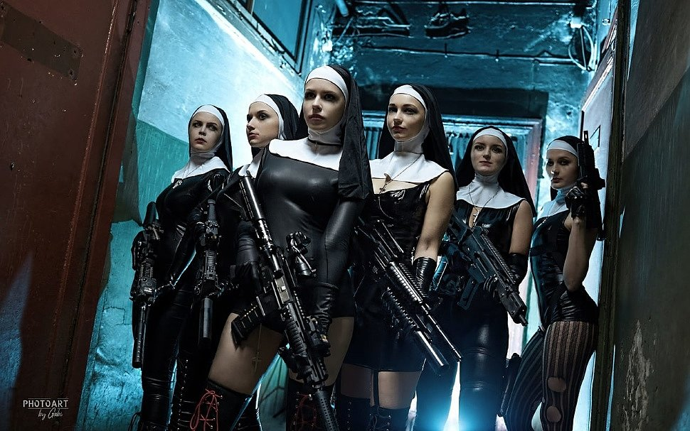 Russian Cosplay: The Saints (Hitman: Absolution)