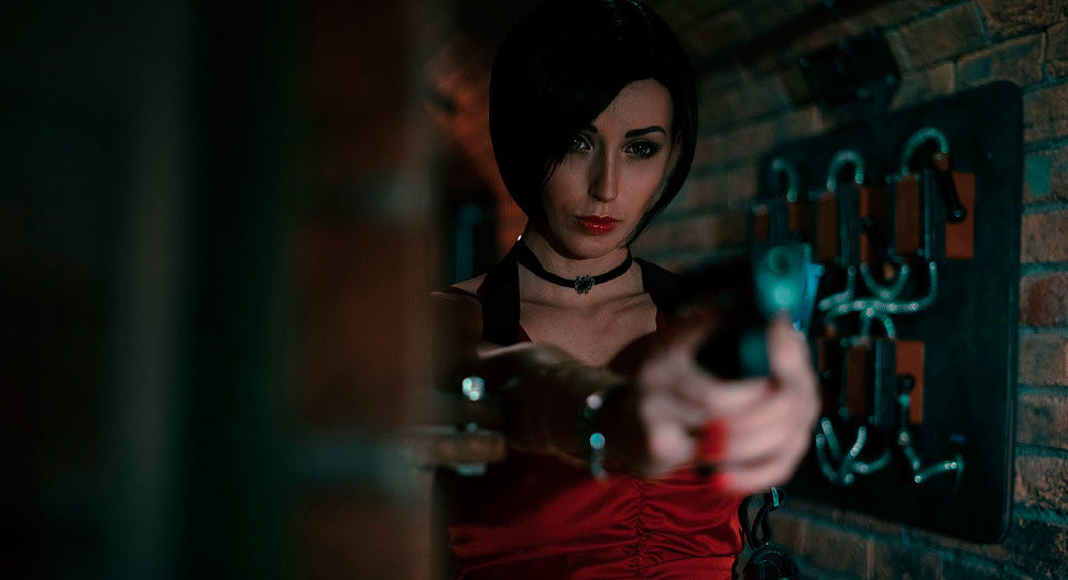 Russian Cosplay: Ada Wong (Resident Evil 2 Remake)