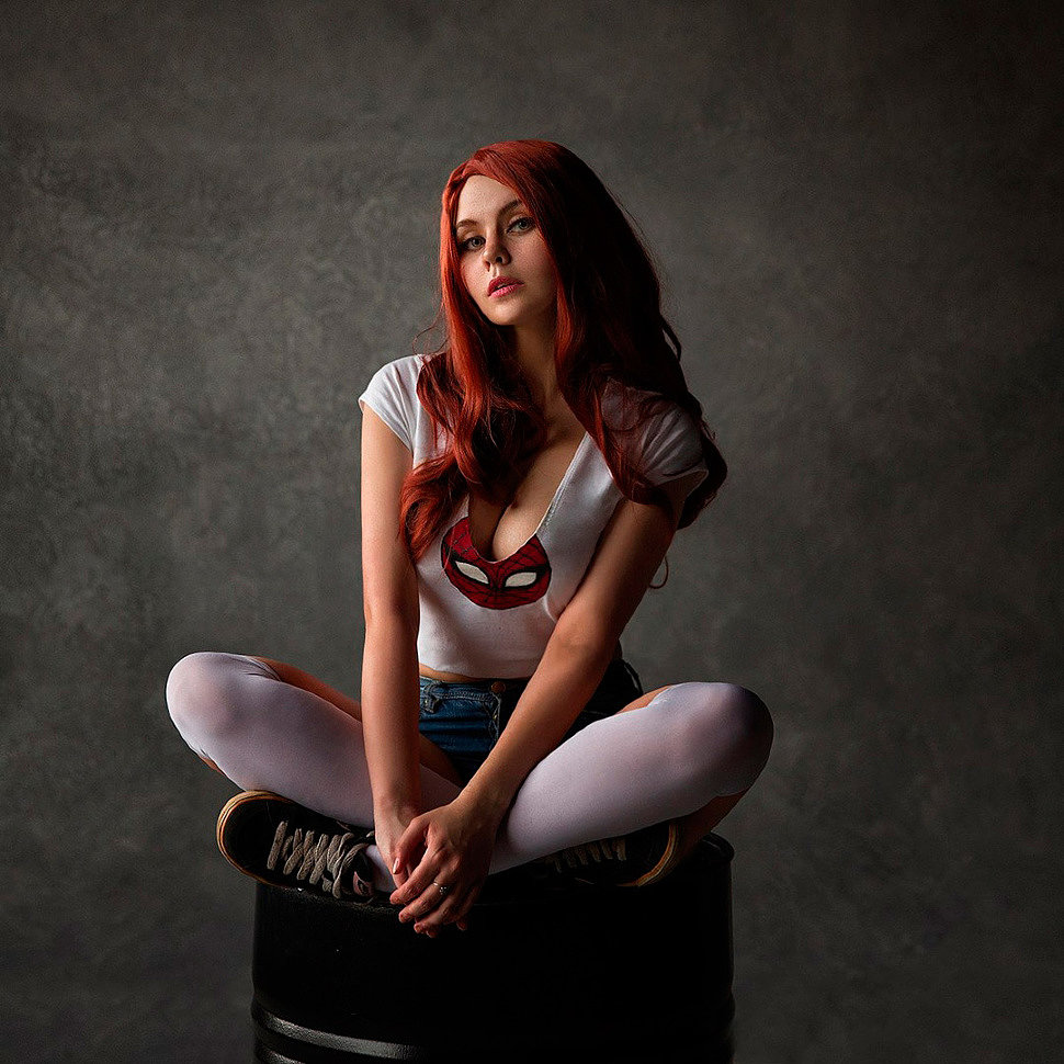 Russian Cosplay: Mary Jane (Spider-man) by Asami Gate