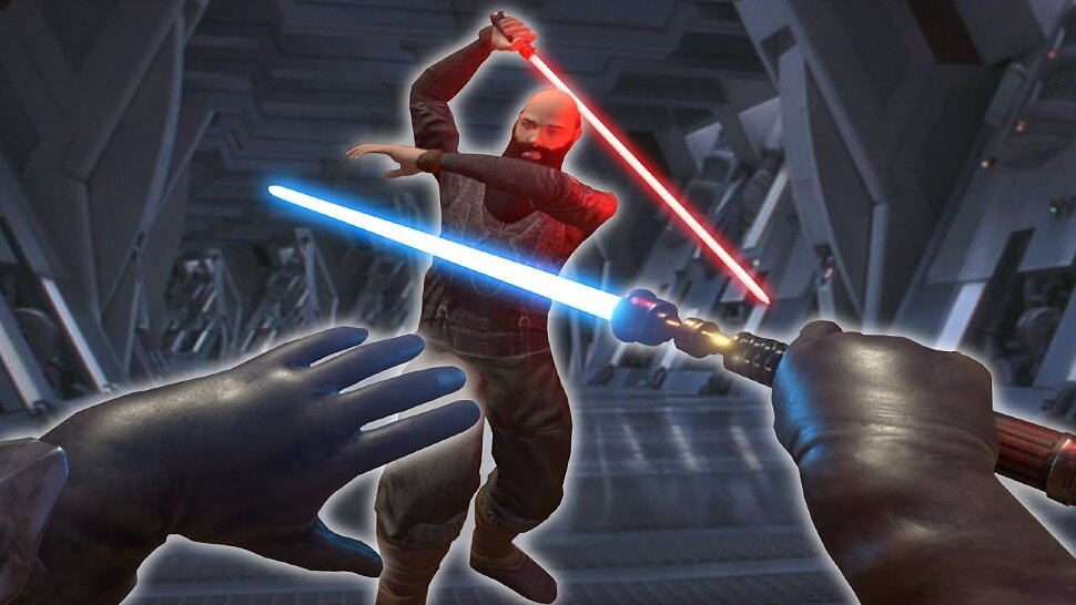 [Fun Video] Blade and Sorcery's Star Wars mods have the best lightsaber combat of all Star Wars game