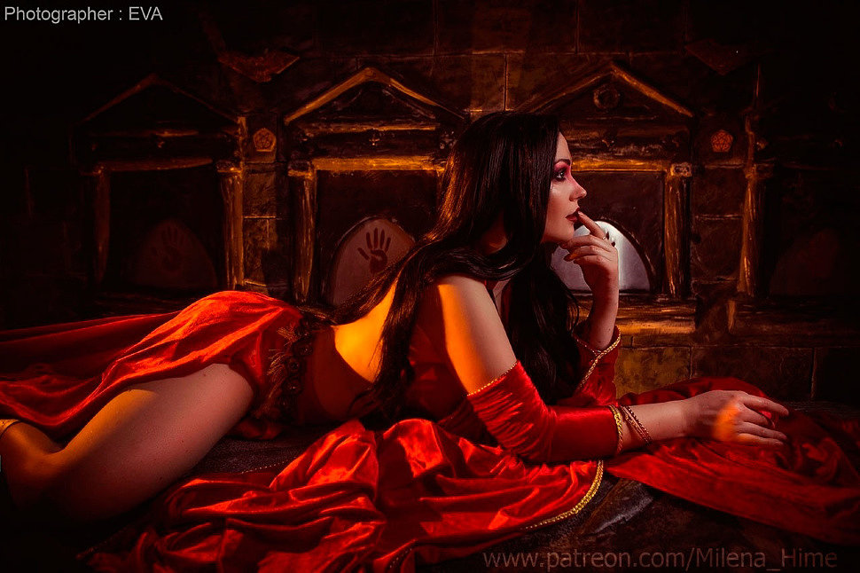 Russian Cosplay: Kaileena (Prince Of Persia: Warrior Within) by Milena_Hime