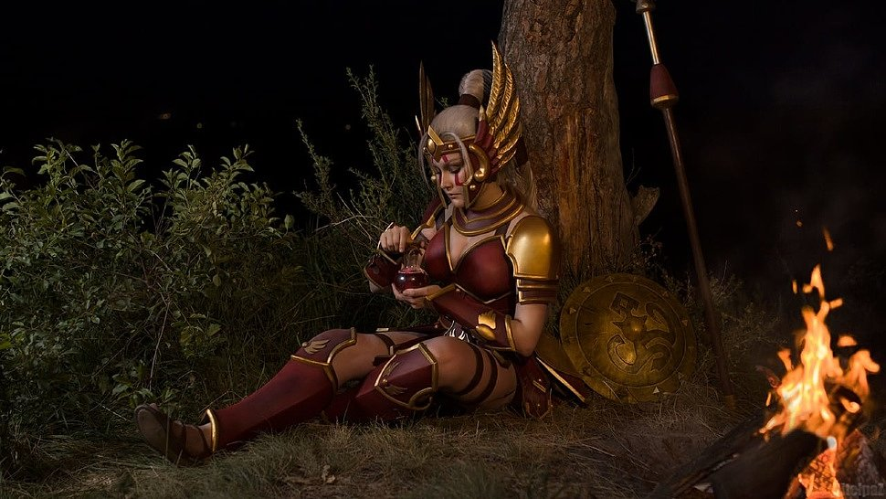 Russian Cosplay: Cassia (Heroes Of The Storm)