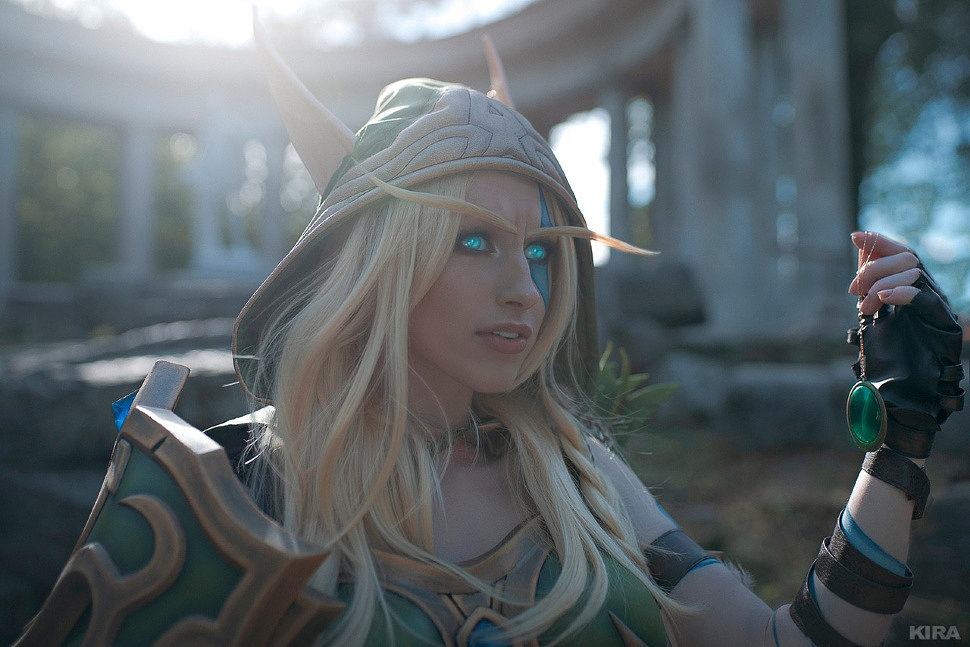 Russian Cosplay: Alleria, Vereesa, Sylvana (World of Warcraft)