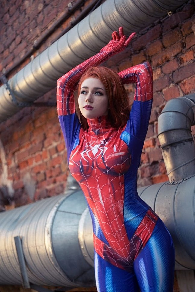 Russian Cosplay: Mary Jane Watson (Spider-man)