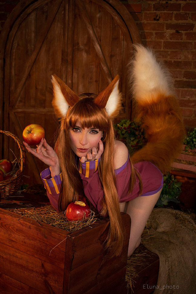 Russian Cosplay: Holo (Spice and Wolf) by Daria Flora (18+)