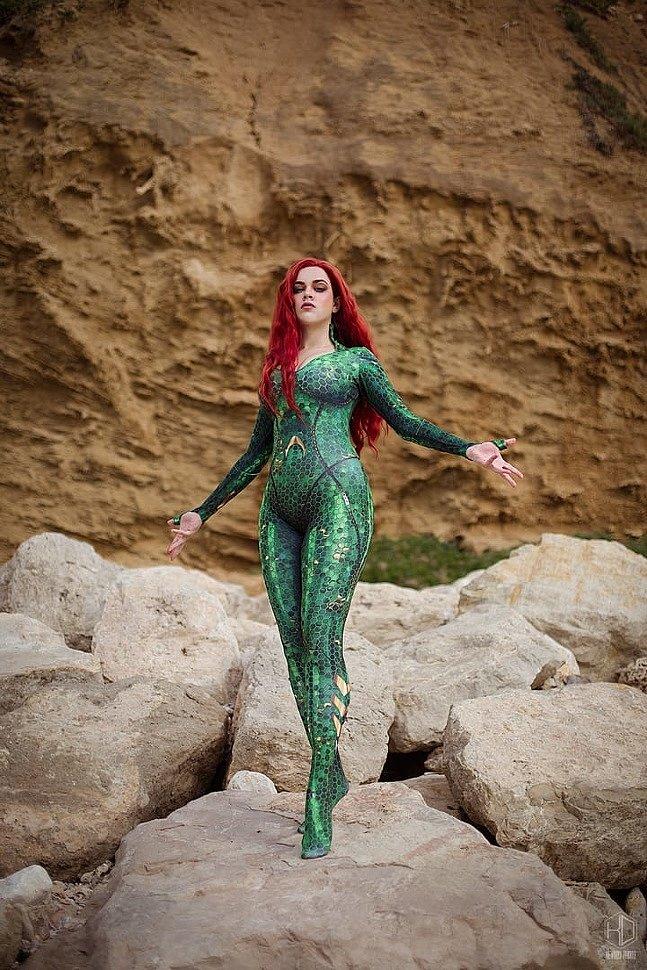Russian Cosplay: Mera (Aquaman) by Mowwiie