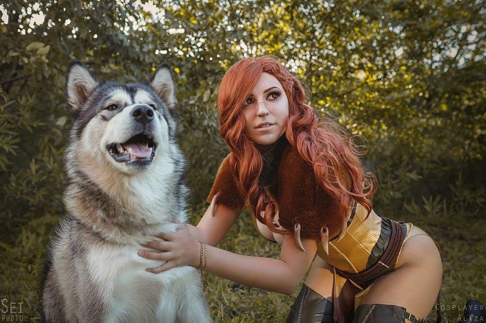 Russian Cosplay: Hawke, Grey Warden & Inquisitor (Dragon Age) by Feyische, Aliza & Koteg