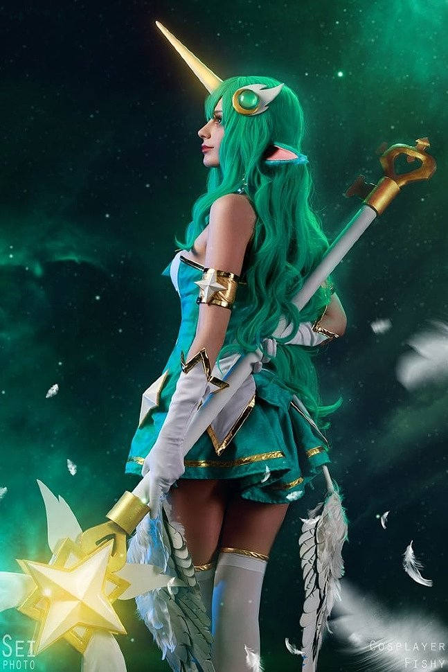 Russian Cosplay: Star Guardian Soraka (League of Legends) by SeiPhoto