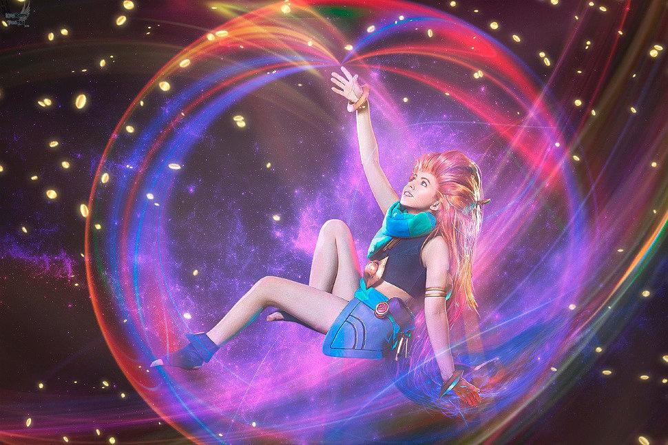 Russian Cosplay: Zoe (League of Legends)