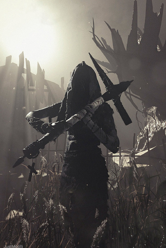 Russian Cosplay: Marta (Outlast 2) by shadecramer7
