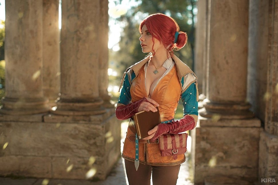 Russian Cosplay: Triss (Witcher) by Reilin