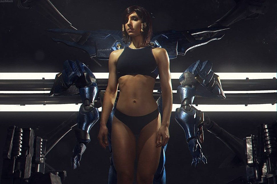 Russian Cosplay: Pharah (Overwatch)