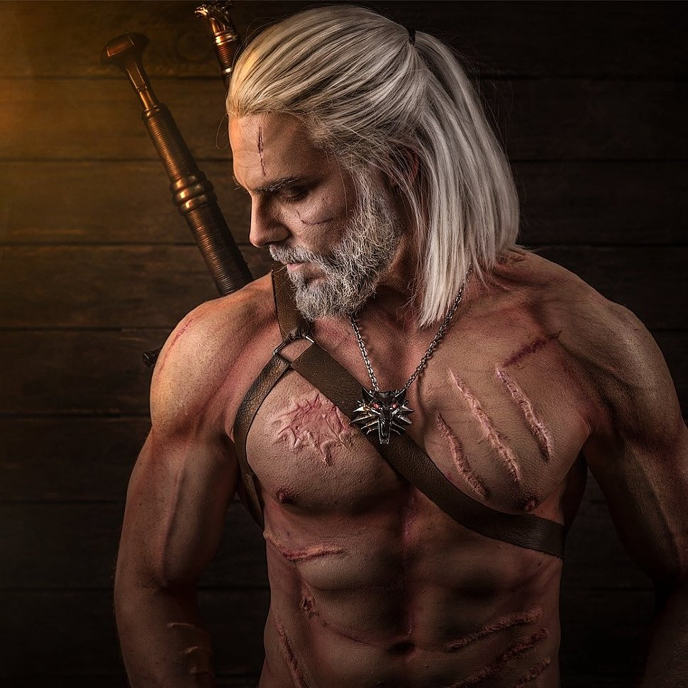 Cosplay: Geralt (The Witcher 3) by Maul