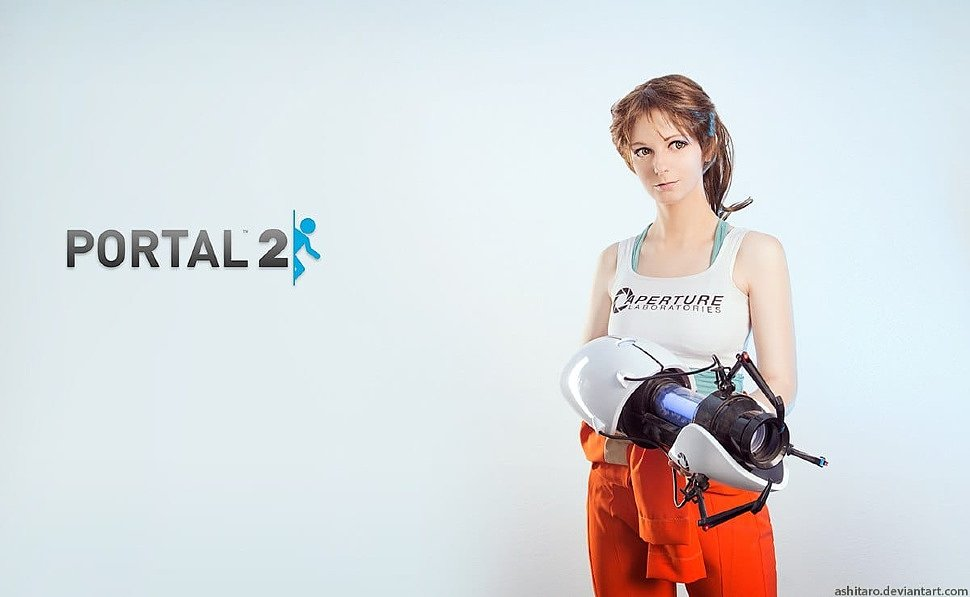 Russian Cosplay Chell Portal 2 G4sky Net
