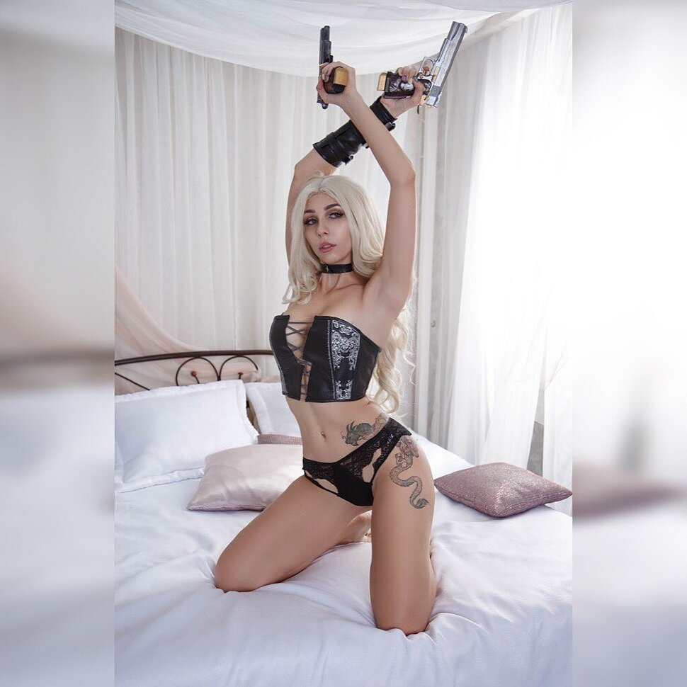 Russian Cosplay: Trish (Devil May Cry 5) by Ladybell
