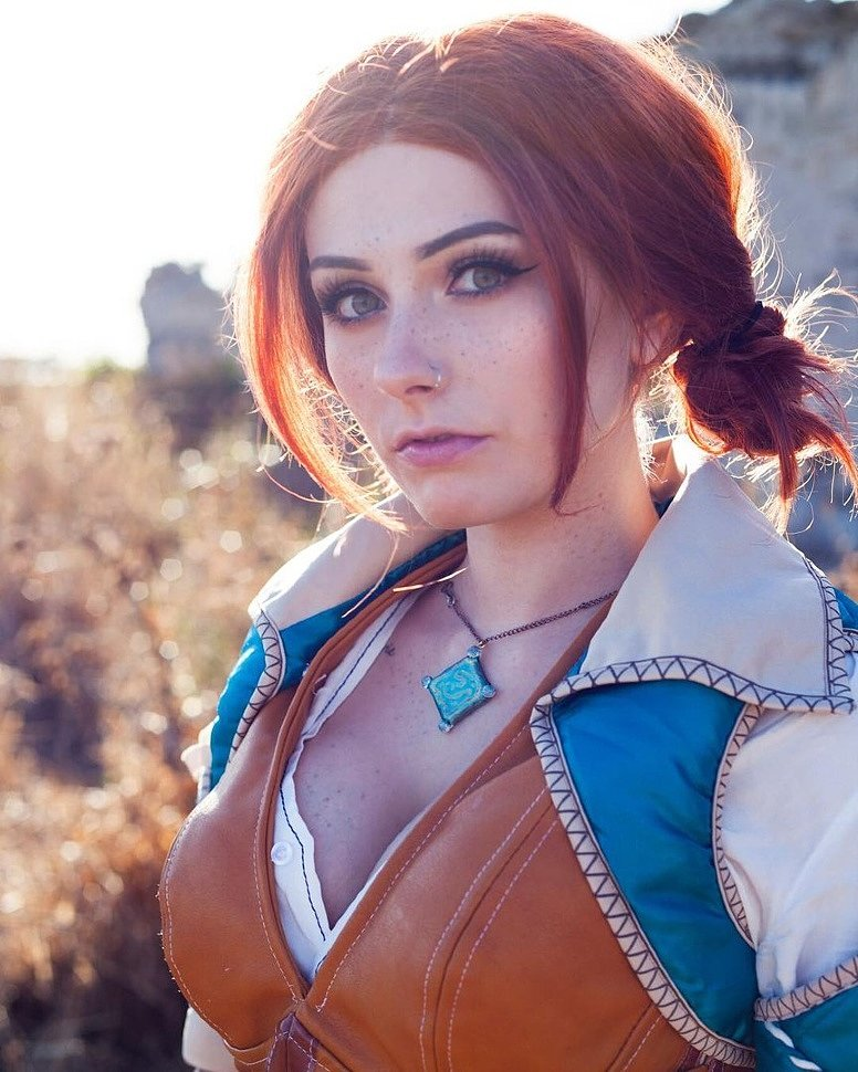Cosplay: Triss Merigold (The Witcher) by rolyatistaylor (18+)