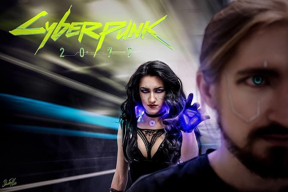 Cosplay: Yennefer (Witcher 3 + Cyberpunk 2077) by Dante Heks