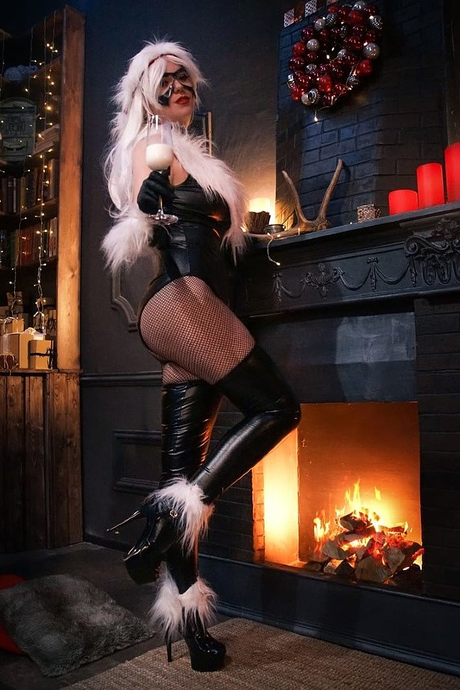 Russian Cosplay: Black Cat (Marvel) by Bagira Jaguar Girl
