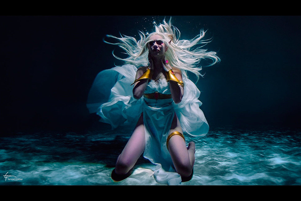 Russian Cosplay: Queen Azshara (World of Warcraft)