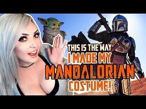 [Fun Video] Jessica Nigri Mandalorian Costume + Baby Yoda Cosplay Creation