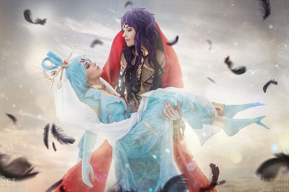 Russian Cosplay: Focalor & Vinea (The Labyrinth Of Magic)