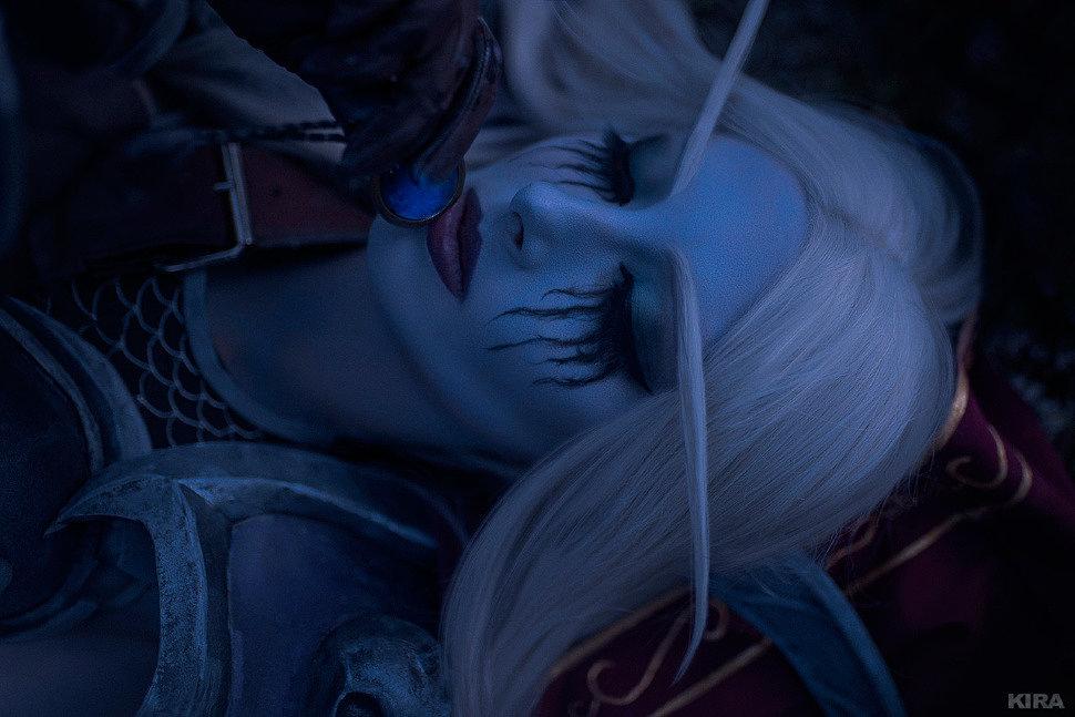 Russian Cosplay: Alleria, Vereesa, Sylvana (World of Warcraft)