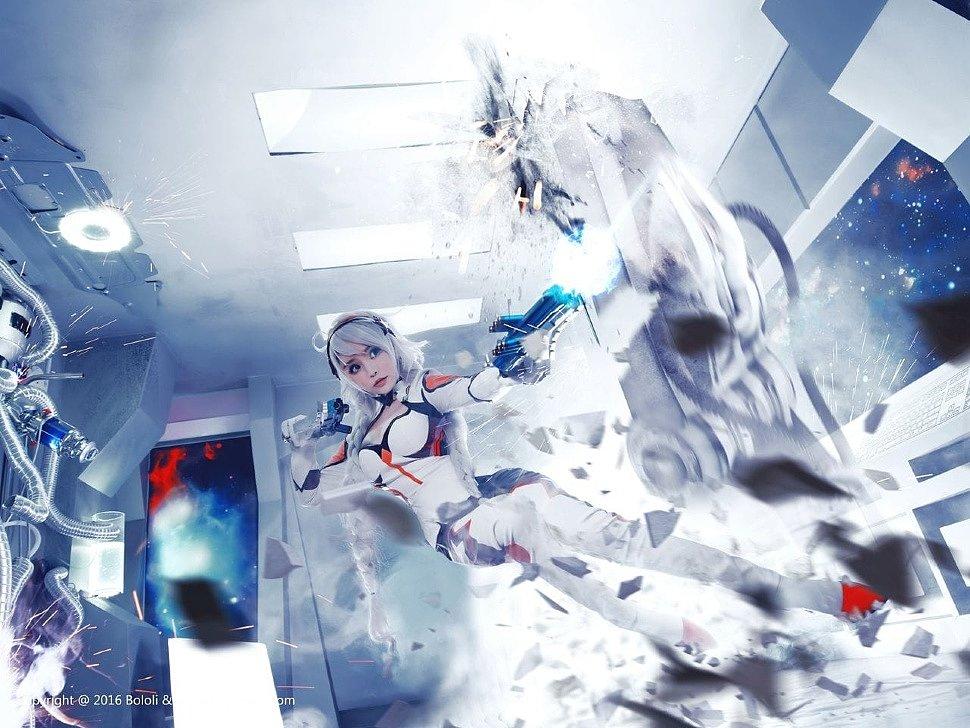 Cosplay: Kiana Kaslana (Honkai Impact) by Liu You Qi Sevenbaby