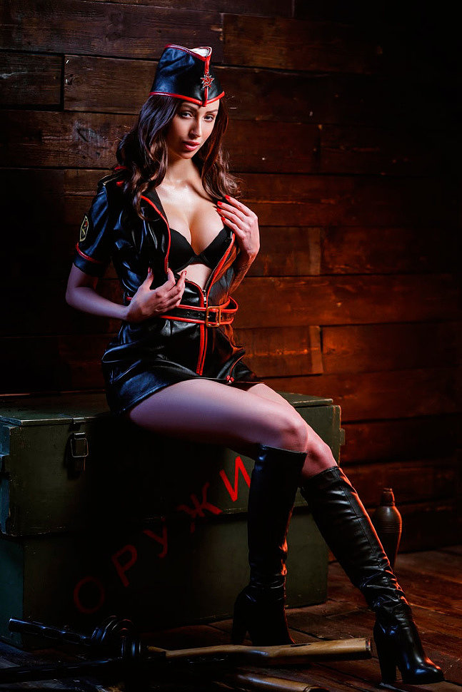 Russian Cosplay: Daria (Command & Conquer: Red Alert 3) 18+