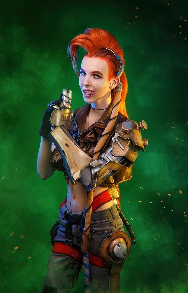 Russian Cosplay: Jinx (League of Legends) by Onore Dreamhall